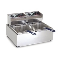 Roband Double Pan Counter Top Fryer 2 x 5 Litre
