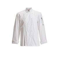 ChefsCraft Exec Lightweight Chef Jacket L/S White