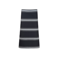 ChefsCraft 3/4 Butcher Apron Navy Stripe
