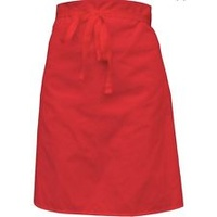 Bulk Bargain Buy! - Linen Waist Apron Red W/Pocket x 12