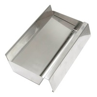 Ashtray-Floor 300x18x80 Stainless Steel W/Removalbe Tray