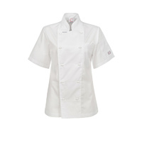 ChefsCraft Exec Lightweight Ladies Chef Jacket S/S White