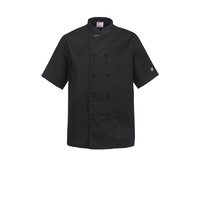 ChefsCraft Classic Chef Jacket S/S Black