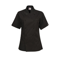 ChefsCraft Exec Lightweight Ladies Chef Jacket S/S Black
