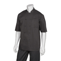 Chef Works -  Black Cool Vent Chef Jacket