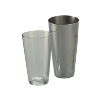 Cocktail Shaker-18/8 Base With Glass