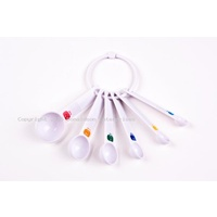 Plastic Measuring Spoons - Set 6