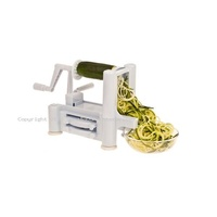 The Salad Bar - Spiral Vegetable Slicer  3 Blades