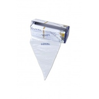 "Loyal Disposable Piping Bags Clear 12""/30cm - Roll 100"