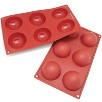 Silicone Dome Mould 6 Cup 60ml 60x30mm