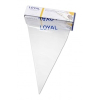 "Loyal Disposable Piping Bags Clear 18""/46cm - Roll 100"