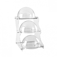 Display Cabinet-3 Trays 450x360x670mm