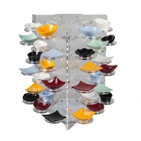 Display Carousel-Suits 48 Dishes