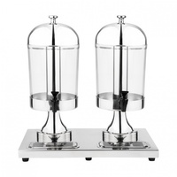 SUNNEX - Juice Dispenser-18/10, Double, 2X7.0Lt