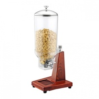 SUNNEX - Cereal Dispenser-Single, 7.0Lt  WOOD BASE