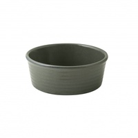 """ZUMA"" OLIVINE -  Ramekin-Ribbed, 130x50mm Qty 6"