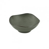 """ZUMA"" OLIVINE -  Organic Shape Bowl-130mm  Qty 6"
