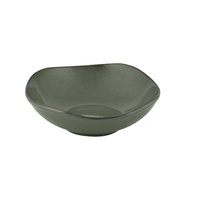 """ZUMA"" OLIVINE -  Organic Shape Bowl-170mm Qty 6"