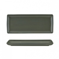 """ZUMA"" OLIVINE -  Share Platter-335x140mm Qty 6"