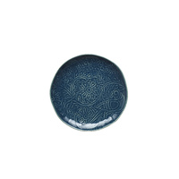 Vilamoura Goa Blu Round Plate-275mm Coupe - Qty 4