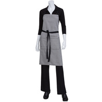 Chef Works Portland Black Denim Bib Apron