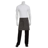 Chef Works Dorset Pewter Half Apron