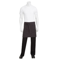 Chef Works Rockford Steel Grey Half Apron