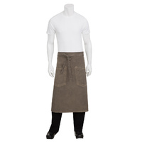 Chef Works Dorset Earth Brown 3/4 Apron
