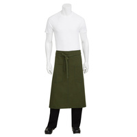 Chef Works Rockford Olive Green 3/4 Apron