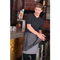 Chef Works Soho Frost/Grey Half Apron