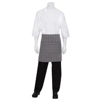 Chef Works Brooklyn Black/Grey Half Apron