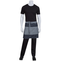 Chef Works Manhattan Indigo Blue Denim Half Apron