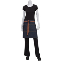 Chef Works Memphis Indigo Blue Half Denim Apron