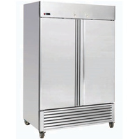 Snowman Double Solid Door Stainless Steel Heavy Duty Chiller 1305L 750W