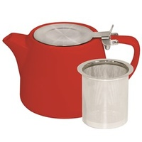 Chilli Stackable Teapot 600ml Infuser & Lid