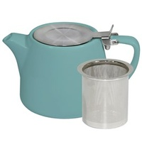 Teal Stackable Teapot 500ml Infuser & Lid