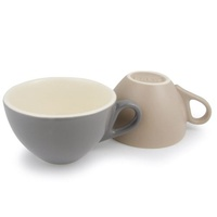 Brew Cappuccino Cup 220ml Assorted Colours /6 Pack