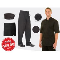 Chef Works Student Food and Beverage Uniform Kit