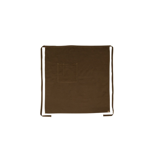 Chef Works Soho Chocolate 3/4 Wide Apron