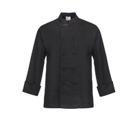 ChefsCraft Exec Lightweight Chef Jacket L/S Black