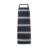 ChefsCraft Full Bib Butchers Apron Navy Stripe