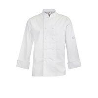 ChefsCraft Classic Chef Jacket L/S White