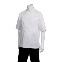 Chef Works White Cool Vent Chef Jacket S/S White