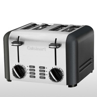 Cuisinart Toaster 4 Slice Stainless Brushed CPT-180A