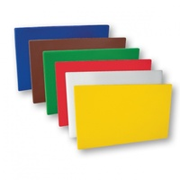 Cutting Board Set 380 x 510 x 13mm - 1 Of Each Colour - 6 Pc