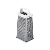 4-Sided Grater (Plastic Handle) - 190x250mm