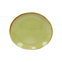 Artistica Oval Plate-295x250mm Flame