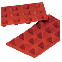 Silicone Pyramid Mould 15 Cup 20ml