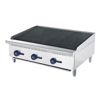 CookRite Gas Radiant Broiler 1220mm