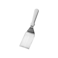 IVO Griddle Scraper 125x80mm - HACCP Baking & Dairy (White)